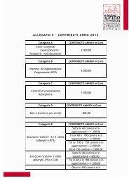 ALLEGATO C – CONTRIBUTI ANNO 2012 - Turismo Torino