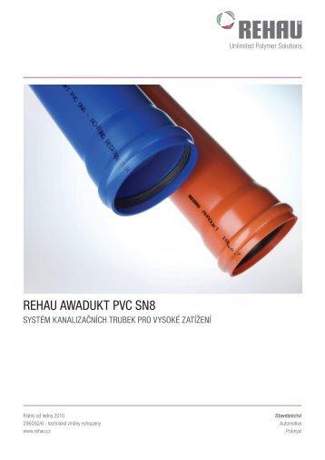 REHAU AWADUKT PVC SN8 - Mirad