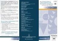 custom academic staff development programme - Centre for ...