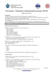 Oversigt over obligatorisk litteratur i MF Uddannelsen - Fagforum for ...