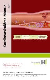 Kardiovaskuläres Manual - No Content (204) - Kantonsspital St. Gallen