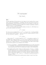 TP cryptographie