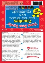 Three Bear Family® Counters - Learning Resources
