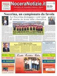 Nocerina, un campionato da favola - NoceraNotizie.it