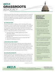 HIDA Grassroots Advocacy Initiative