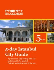 5-day Istanbul City Guide - Prompt Guides
