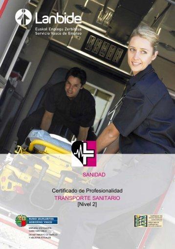 CP SANT0208 TRANSPORTE SANITARIO - Lanbide