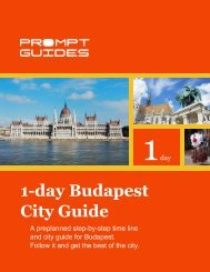 1-day Budapest City Guide - Prompt Guides