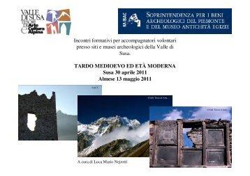 Tardo Medioevo ed Età Moderna - Valle di Susa. Tesori di Arte e ...