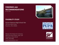 Feasibility Study - Portage County Economic Development Board