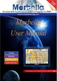 Marbella MK-74 7inch GPS (Navigation Manual) - Supreme Antennas