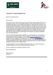 Convocaat 2012 januari - maart - Hekkelman Advocaten & Notarissen