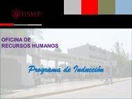 Competencias - Universidad de San Martín de Porres