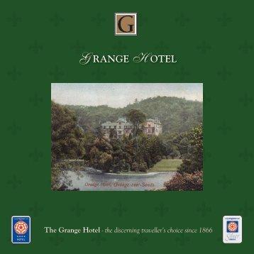 Grange Hotel Brochure