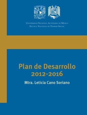 Plan de Desarrollo 2012-2016 - Dirección General de Planeación ...