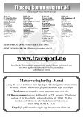 program - Jarlsberg Travbane - Page 7