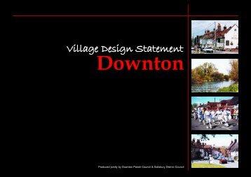Downton Village Design Statement.pdf 860kb - Wiltshire Council