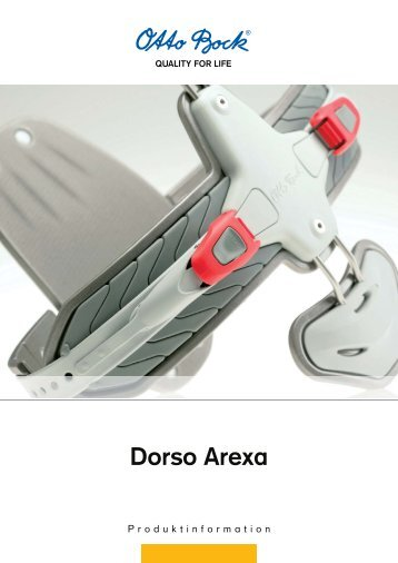 Dorso Arexa - Kinetech Medical
