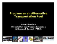 Propane as an Alternative Transportation Fuel - Low Carbon Fuels ...