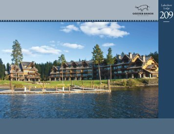 Gozzer Ranch Golf and Lake Club Lakeshore Lodge 209