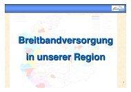 Was ist Breitband - Vereinigte Stadtwerke GmbH