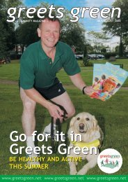 July/August 2004 - The Greets Green Partnership Legacy Website
