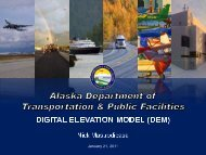 the dem is foundational - Climate Change in Alaska