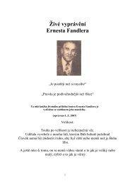 Ernest Fandler-Téměř doma