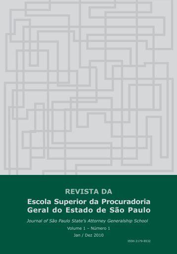 RESPGE - Procuradoria Geral do Estado de São Paulo