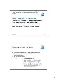 11-WS 5 Hongler u. Kobi.pdf - 2. Internationale Tagung Soziale ...