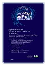 Application form (PDF, 386KB) - University of Canterbury