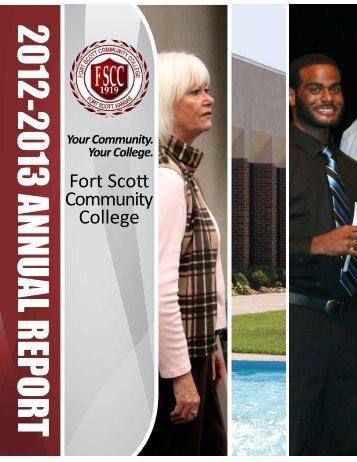 Annual Report - Fort Scott Community College