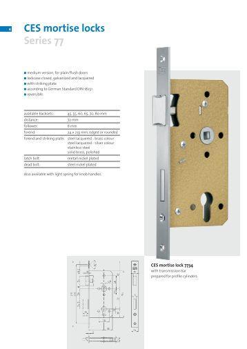 Strike Specification For 34h 39h Mortise Locks Stanley