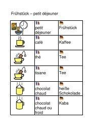 Wortkarten Frühstück - Besondere Kinder - besondere Wege