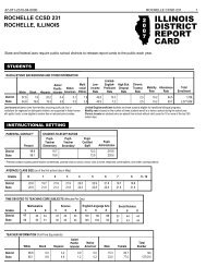 2007 Report Card - Rochelle Community Consolidated School ...