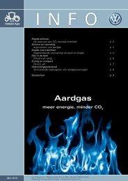 Aardgas meer energie, minder CO - Volkswagen