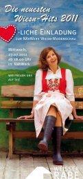 Die neuesten Wiesn-Hits 2011 - Weisser Rabe