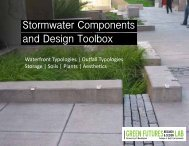 Stormwater Components and Design Toolbox - Green Futures Lab ...