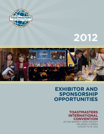 EXHIBITOR AND SPONSORSHIP OPPORTUNITIES - ExpertClick