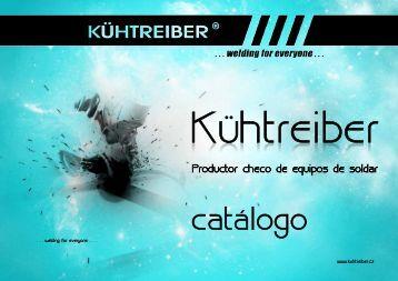 Nuevo catálogo 2013 (pdf 7,27 MB) - KÜHTREIBER sro