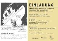 Ihre Einladung zur Veranstaltung (PDF) - Leopold Kohr Akademie