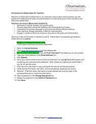 iObservation - Pasco County Schools