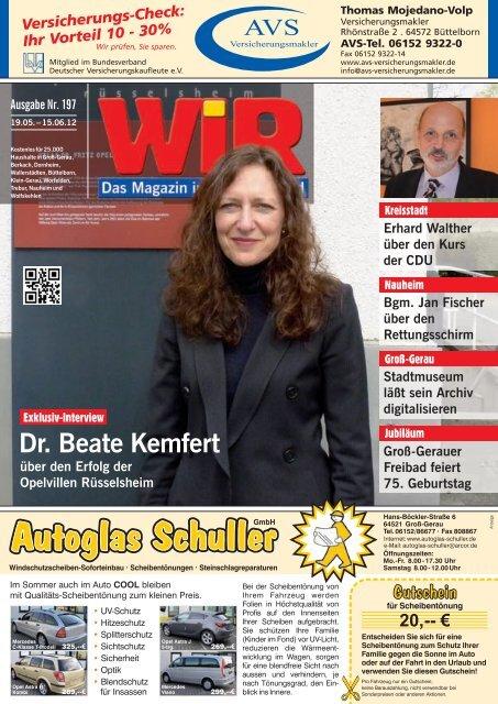 lachen Sie mit! - Das WIR-Magazin im Gerauer Land