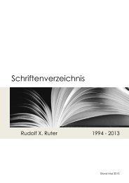 Literaturliste_Ruter_Mai-2013 - Rudolf X. Ruter