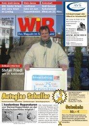 """Seniorenwohn- und Pflegeheim """"Am Kastell"""" - Das WIR-Magazin im ..."""