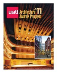 Architecture Awards Program - usitt