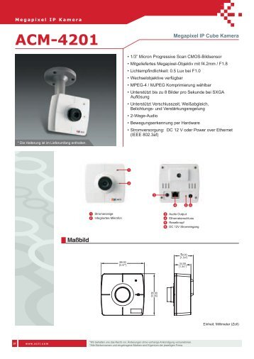 ACM-4201 - IP CCTV GmbH