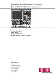 MAT E-Series - Emco Maier GmbH