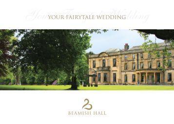 Wedding Brochure - Beamish Hall