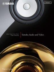 Yamaha Audio and Video - 4Audio